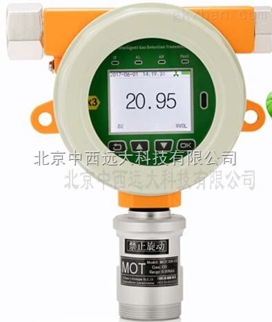中西(LQS)固定式氧气检测仪 库号:M221333