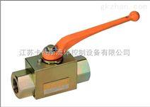 德国进口乙炔专用内螺纹板式高压钢制球阀