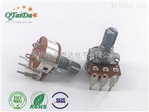 深圳厂家R1610五七弯脚开关电位器