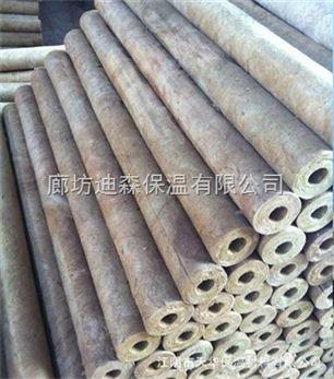 贴铝箔岩棉管壳高密度价格