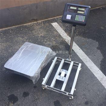菏泽100公斤不锈钢防水电子台秤