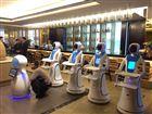 热品推荐 无轨送餐服务机器人