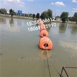 嘉兴水上排泥管浮筒 一体式警示浮筒
