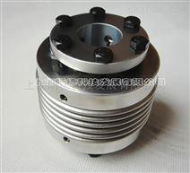 铝合金不锈钢带胀套波纹管联轴器