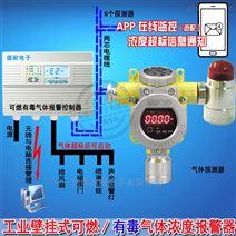 化工厂罐区氟化氢泄漏报警器,气体报警控制器