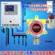 化工厂厂房瓦斯气体报警仪,可燃气体检测报警器手机云监控