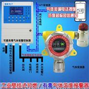 快餐店厨房煤气浓度报警器,气体探测器探头可以接消防主机吗?