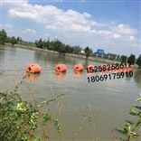 齐全供应水源地拦污pe浮筒 塑料夹网浮筒