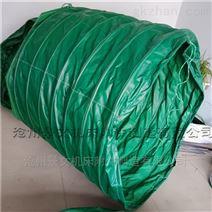 榆林码头防雨除尘输送布袋厂家定做