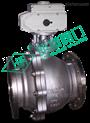 Q941F-不锈钢法兰大口径浮动式电动球阀