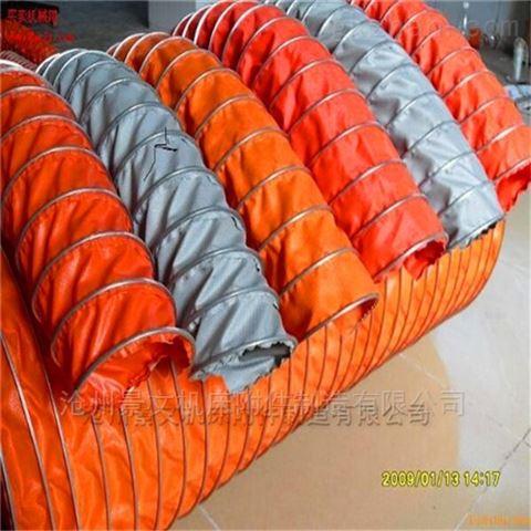 造纸机械设备高温排烟伸缩风管河北厂家