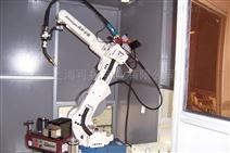 二手工业机器人日本OTC焊接自行车架机械臂