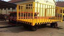 双转盘转向平板拖车价格 小吨位平板车厂家