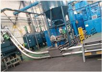 石膏粉管链提升机、钙粉20米管链式输送机