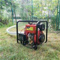 高压4寸柴油防汛小水泵