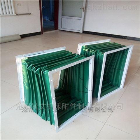 江苏方形法兰风道伸缩软连接机械设备配套