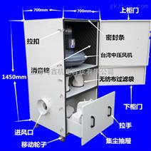 JC系列柜式布袋集尘机 11kw粉尘工业集尘器