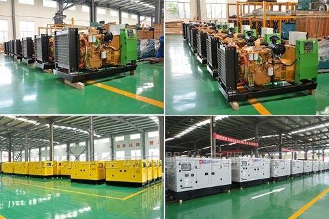 一款经济实用型潍坊150千瓦燃气发电机组