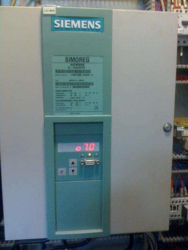 西门子6RA70直流调速装置IGBT励磁模块更换