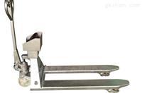 YCS2吨手动托盘叉车秤(泰州地牛电子磅)工厂用手动叉车电子秤