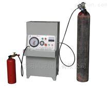 氮氣滅火器灌裝機的操作使用方法