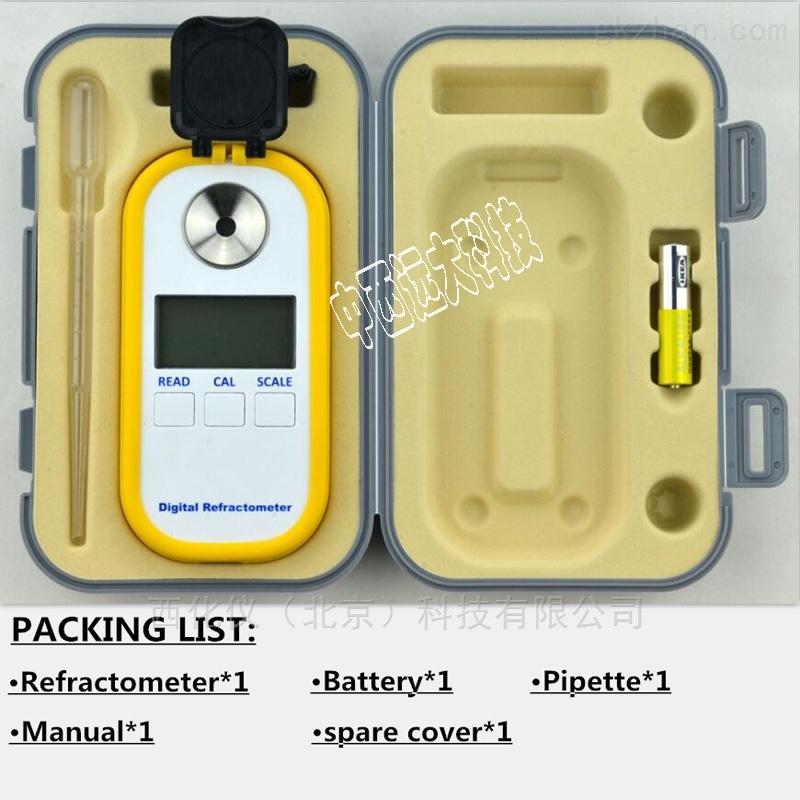 数显蜂蜜折光仪 型号:DR301