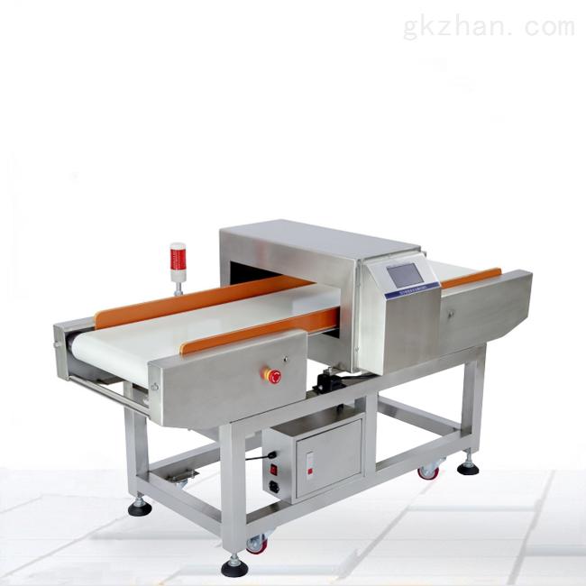 带翻板自动剔除功能食品金属检测机