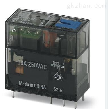 PHOENIX插拔式微型單個繼電器操作注意