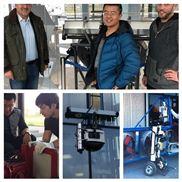 海特林高楼外墙清洁机器人定制机