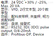 配料皮带秤控制器 M25379