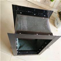環保設備耐溫顆粒輸送伸縮軟管價格