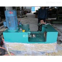 YJZ 轨道校正液压矫直机7.5KW液压调直机