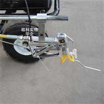塑胶跑道划线机除旧线机手推式道路标线机