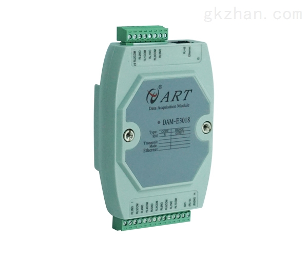 DAM-E3018以太网模块8路继电器输出