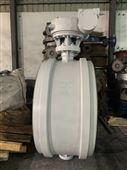 D363H型对焊式金属密封蝶阀