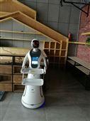 餐厅迎宾送菜机器人跨界进入行业巨头