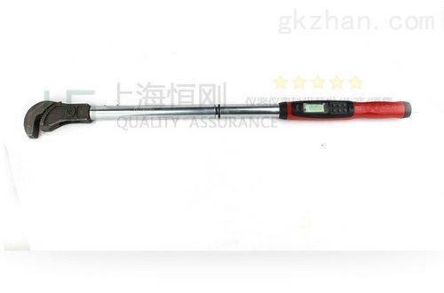 检测直螺纹套筒用的数显扭力扳手300N.m