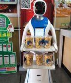 """第六代无轨送餐机器人""""带你品尝常乐基"""