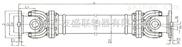 河北友盛联轴器专业供应SWP D型(无伸缩短式)十字轴式万向联轴器