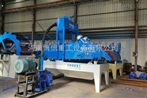 巩义博信重工轮式洗砂机生产厂家、槽式洗砂设备