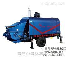 DHBT系列柴油机小型大骨料输送泵