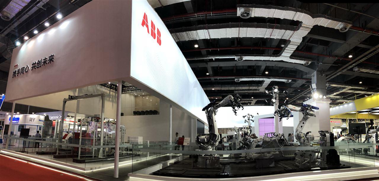 ABB为未来工厂打造最新柔性、智能、定制化解决方案