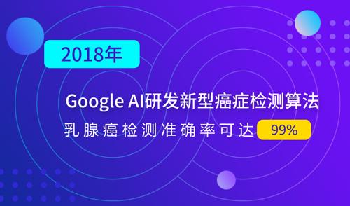 Google AI研�l新型癌�Y�z�y算法,乳腺癌�z�y�蚀_率可�_99%