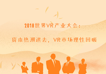 2018世界VR产业大会:资本热潮退去,VR市场理性回暖
