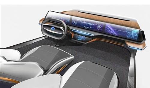 阿里发布智能驾驶舱:大屏横贯中控不含任何按键
