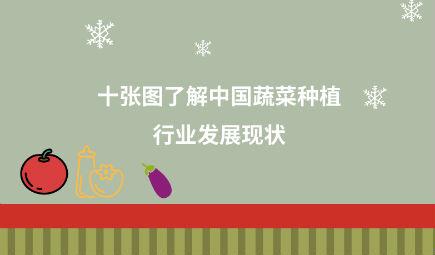 十张图了解中国蔬菜种植行业发展现状