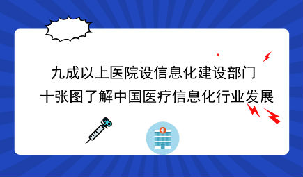 十张图了解中国医疗信息化行业发展