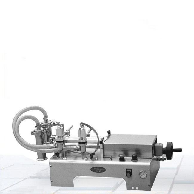 液体半自动灌装机图片