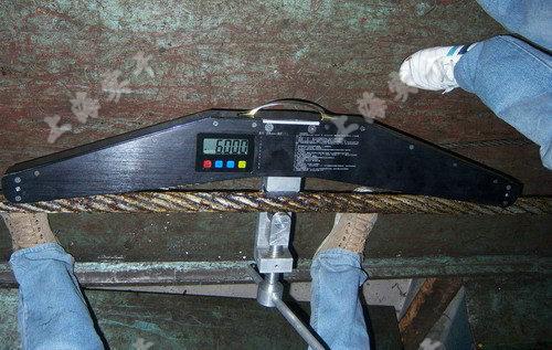 钢丝绳拉力仪图片