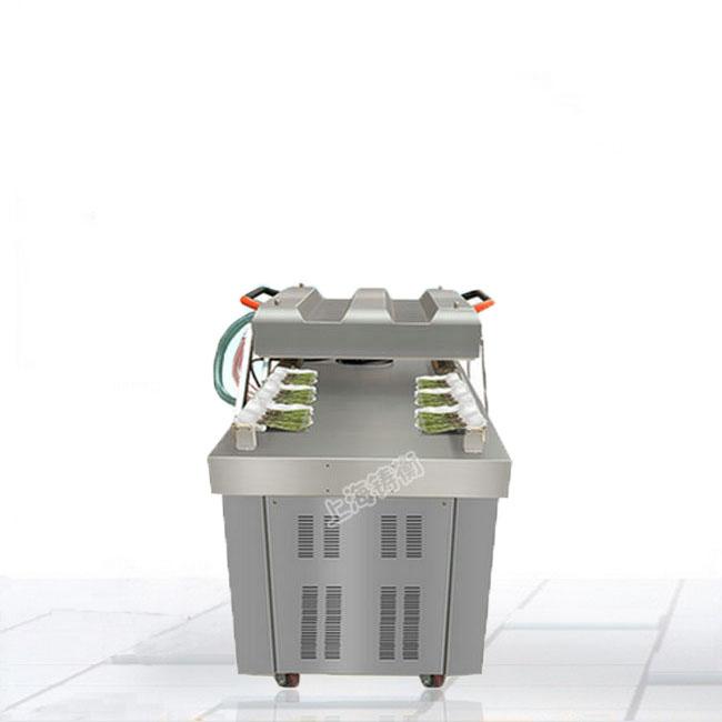 400型香菇双室真空包装机